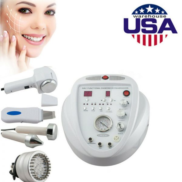 Buy Microdermabrasion Diamond Dermabrasion Peel 5in1 Ultrasonic Scrubber Machine New