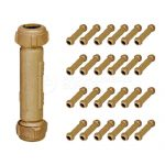 Buy Midline Valve Compression Coupling Fitting, with Packing Nut, Brass, 5 in. Long