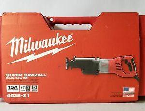 Buy Milwaukee 6538-21 15A Super Sawzall Reciprocating Saw Kit