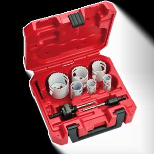 Buy Milwaukee HOLE DOZER™  Locksmith's Hole Saw Kit - 8PC 49-22-4074