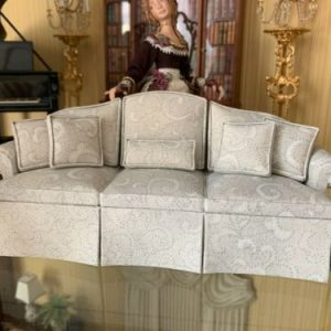 Buy Miniature Artisan Signed Dollhouse Handmade Sofa Couch 1:12 scale