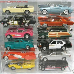 Buy Model Car Diecast Display Case 1/18 scale 12 car Compartment