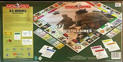 Buy Monopoly Property Trading Game U.S. Marines Edition Board Game Parker Brothers