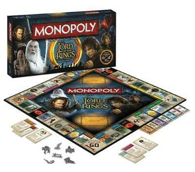 Buy Monopoly The Lord Of The Rings Trilogy Edition Boardgame