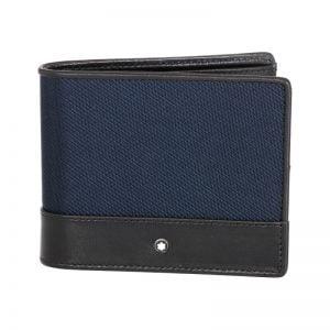 Buy Montblanc NightFlight Men's Leather Wallet 6cc 116832