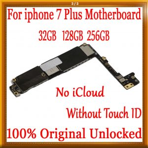 Buy Motherboard iPhone 7 plus Without Touch ID unlocked