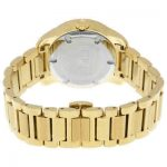 Buy Movado Bold Gold Pave Dial Stainless Steel Ladies Watch 3600255