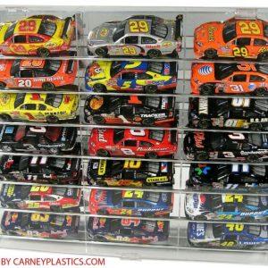 Buy NASCAR Diecast Display Case 21 car TILT SHELF 1:24