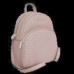 Buy NEW Authentic Michael Kors Abbey Medium Backpack Shoulder Bag Logo Ballet Pink