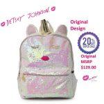 Buy NEW Betsey Johnson Designer Unicorn Bookbag Backpack Travel Bag