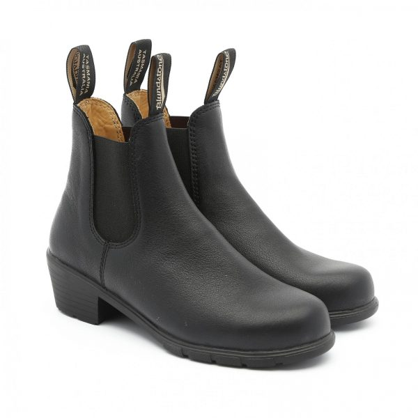 Buy NEW Blundstone Style 1671 Black Heeled Boot Leather For Women