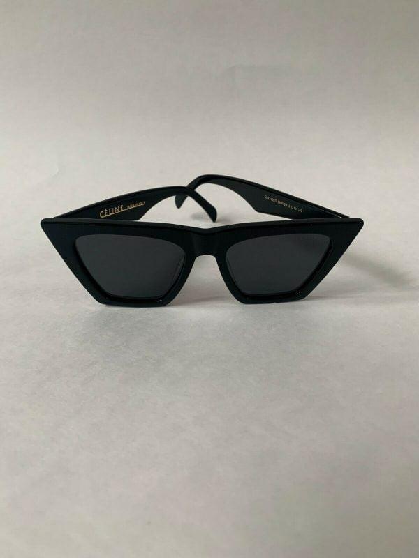 Buy NEW CELINE CL41468/S - 807/IR Black Cat Eye Women Sunglasses 100%  Authentic