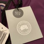 Buy NEW Canada Goose Girls Fur Trimmed Brittania Parka Coat Jacket Purple Size S M