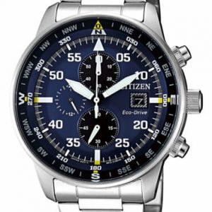 Buy NEW Citizen Crono Aviator Men's Eco Drive Chronograph Watch - CA0690-88L