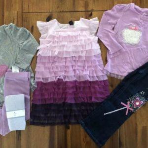 Buy NEW GAP Girl Size 3 3T Lot Shirt Jeans Dress Leggings Set Holiday Wonderland NWT