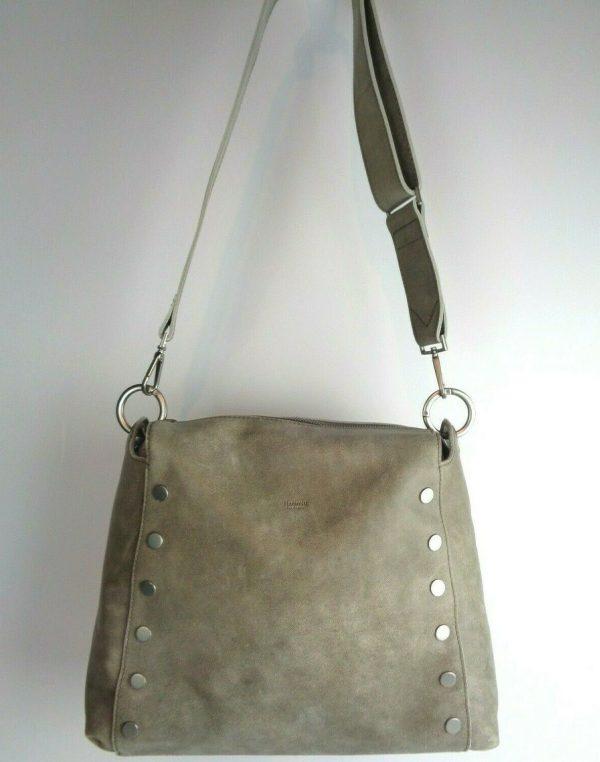 Buy NEW Hammitt Large Bryant Pewter Leather Shoulderbag Crossbody Bag NWT $495