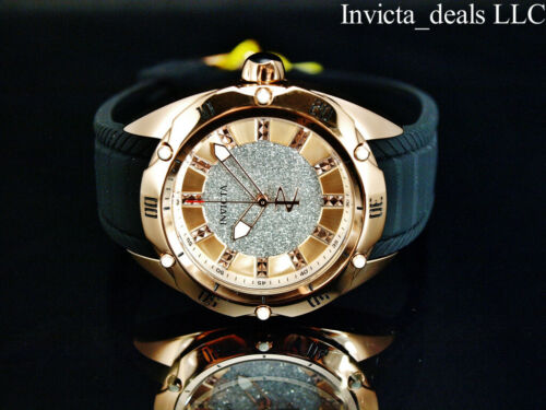 Buy NEW Invicta Women's 39mm Reserve Venom Python Sparkle Dial Rose Tone SS Watch