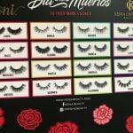 Buy NEW Kenia Ontiveros IONI 3D Faux Mink Eyelashes Day Of The Dead 16 Sets Lash Box