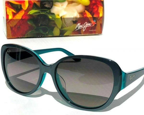 Buy NEW* Maui Jim SWEPT AWAY Aqua Blue POLARIZED Grey Women's Sunglass GS733-06