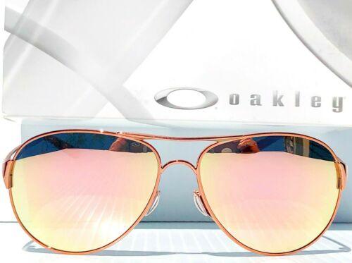 Buy NEW* Oakley Caveat POLARIZED Rose Gold 60mm Aviator Womens Sunglass 4054-01