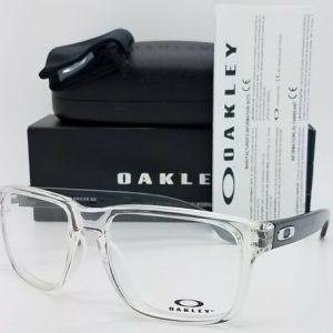 Buy NEW Oakley Holbrook RX Frame Polished Clear Transparent Grey OX8156-0356 56mm