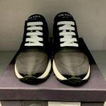 Buy NEW Prada  Black Nylon  Sneakers Size 38/US 8
