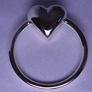 Buy NEW STERLING SILVER HEART RATTLE TEETHING RING FOR BABY