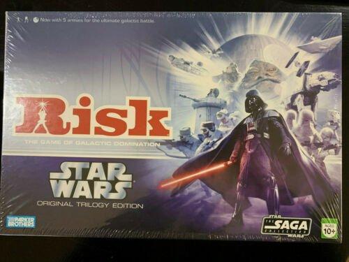 Buy NEW! SW! OOP! Risk: Star Wars Original Trilogy Edition (Parker Brothers 2006)