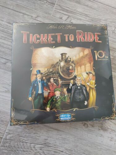 Buy NIB New in Box Sealed Ticket to ride 10th anniversary Board Game