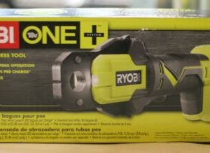 Buy *NIB* Ryobi Cordless18-Volt ONE+ PEX Crimp Ring Press Tool Plumbing P661
