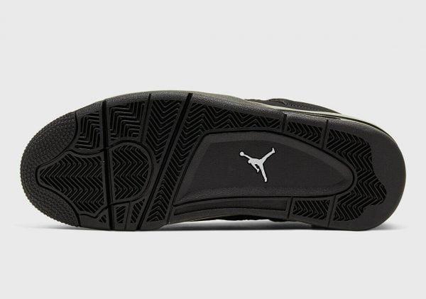 Buy NIKE Air Jordan Retro 4 IV Black Cat Preschool Toddler Baby Kid Women Size 1C-7Y