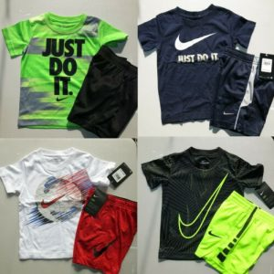 Buy NIKE BOYS 3T SUMMER SHORTS ~ T-SHIRTS ~ AUTHENTIC ~ 8pc ~$180  Blue Red Black