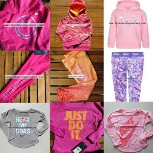 Buy NIKE GIRLS 2T ~$278 Retail 9pc - LEGGINGS ~ WINTER ~ HOODIES ~ PINK PURPLE NEW