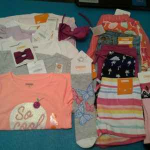 Buy  NWT $297 RV GYMBOREE GIRLS SIZE 3T LOT 18 PCS OUTFITS SETS SUMMER SPRING