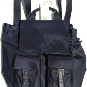 Buy NWT AUTHENTIC TORY BURCH TILDA FLAT BACKPACK BOOK BAG 51331 NAVY