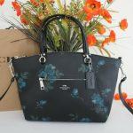 Buy NWT COACH F80004 Prairie Satchel Crossbody Bag Purse with Victorian Floral Print