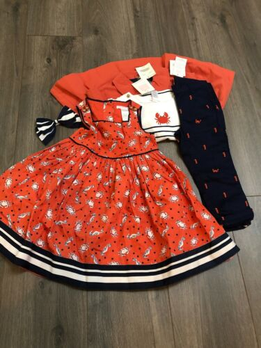 Buy NWT Janie and Jack Seahorse Sails Girls Clothing Set 2013 2T