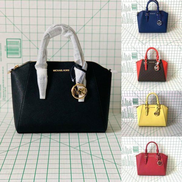 Buy NWT Michael Kors Medium Ciara Top Zip Satchel Messenger Crossbody Bag