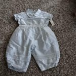 Buy NWT NEW BABY BISCOTTI 6M 6 MONTHS BLUE SILK OUTFIT BOYS