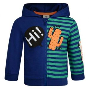 Buy NWT NEW Fendi Baby boys blue hoodie sweat track jacket cactus 3m