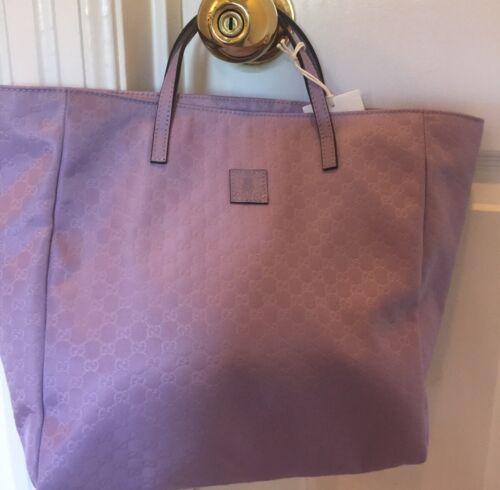 Buy NWT NEW Gucci Girls Micro Guccissima Lavender Purple $450 Tote Bag
