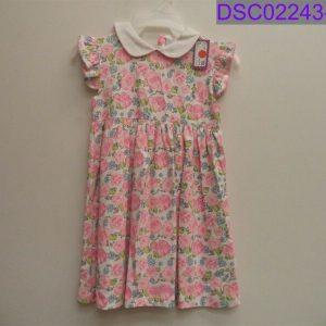 Buy NWT Nantucket Kids Girl's Size 5 Short Sleeve Pink Floral Dress English Garden