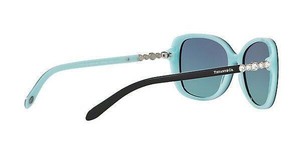 Buy NWT TIFFANY & CO Sunglasses TF 4121B 80559S Black Blue / Gradient Blue 55 mm NIB