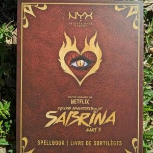 Buy NYX Cosmetics Chilling Adventures Of Sabrina Spell Book Palette FREE SHIPPING