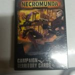 Buy Necromunda Dominion Campaign Territory Cards NiB New OOP Rare