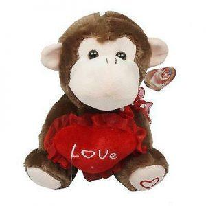 Buy New 213870 Plush 9 Monke Ywheart&Patch Fee (60-Pack) Plush Toys Cheap Wholesale
