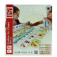 Buy New 504697  Hape Listen To Clues Co (12-Pack) Action Cheap Wholesale Discount