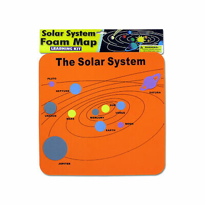 Buy New 602738  Solar System Foam Map Learning Kit (80-Pack) Educational Cheap