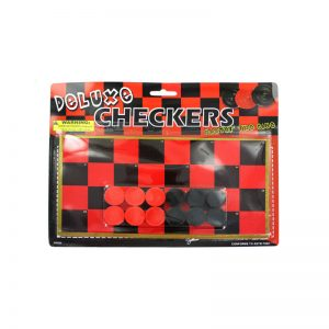 Buy New 602768  Toy Checkers Game Set (71-Pack) Game Cheap Wholesale Discount Bulk
