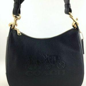 Buy New Authentic Coach F72702 Leather Jes Hobo Shoulder bag Handbag Purse Black